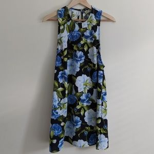 American Apparel Sleeveless Floral Dress M
